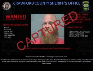 Wantedposter CAPTURED